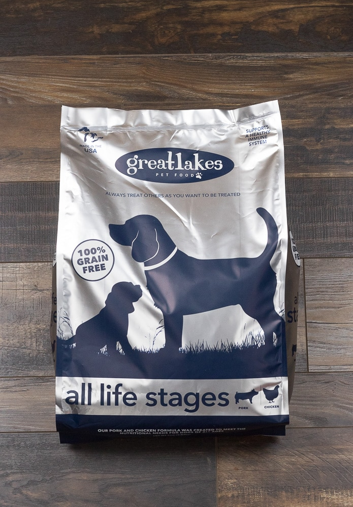 Grain Free Pork Chicken For Dogs Of All Life Stages Great Lakes