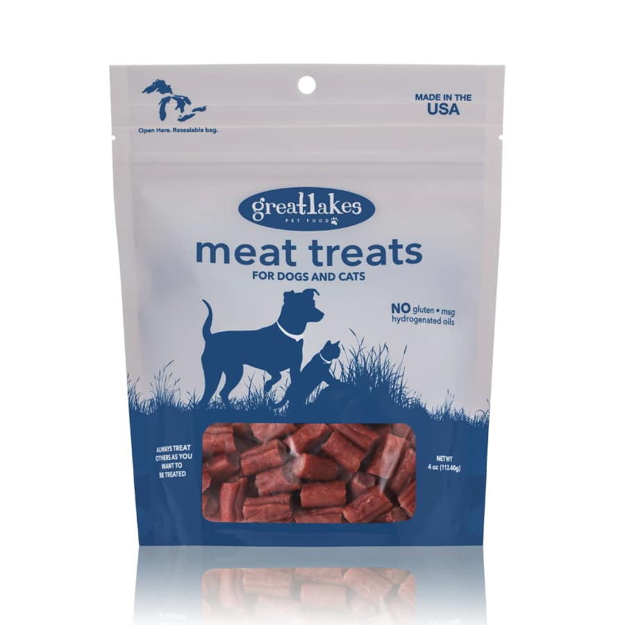 Great Lakes Meat Treats for Dogs and Cats