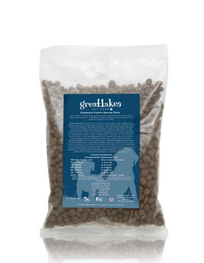 Great Lakes puppy dog food sample
